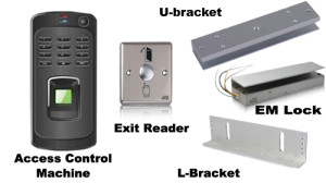 Biometric Access Control System With Accessories