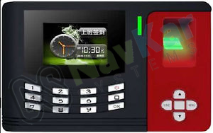 Colored Screen Biometric Attendance System Supplier in India