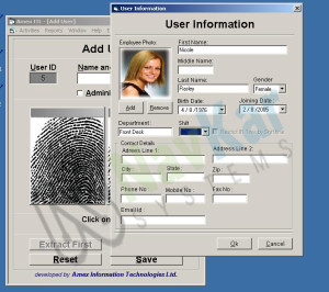Biometric Time Attendance System Software Supplier in India