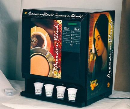 Biometric To Access Tea Coffe Amp Coldrink From Vending